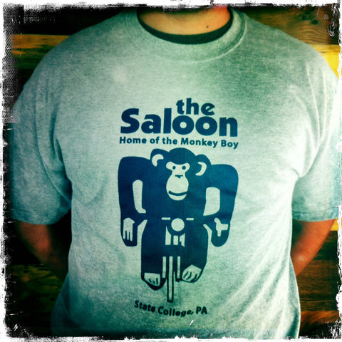 The Saloon Monkey Boy Tee