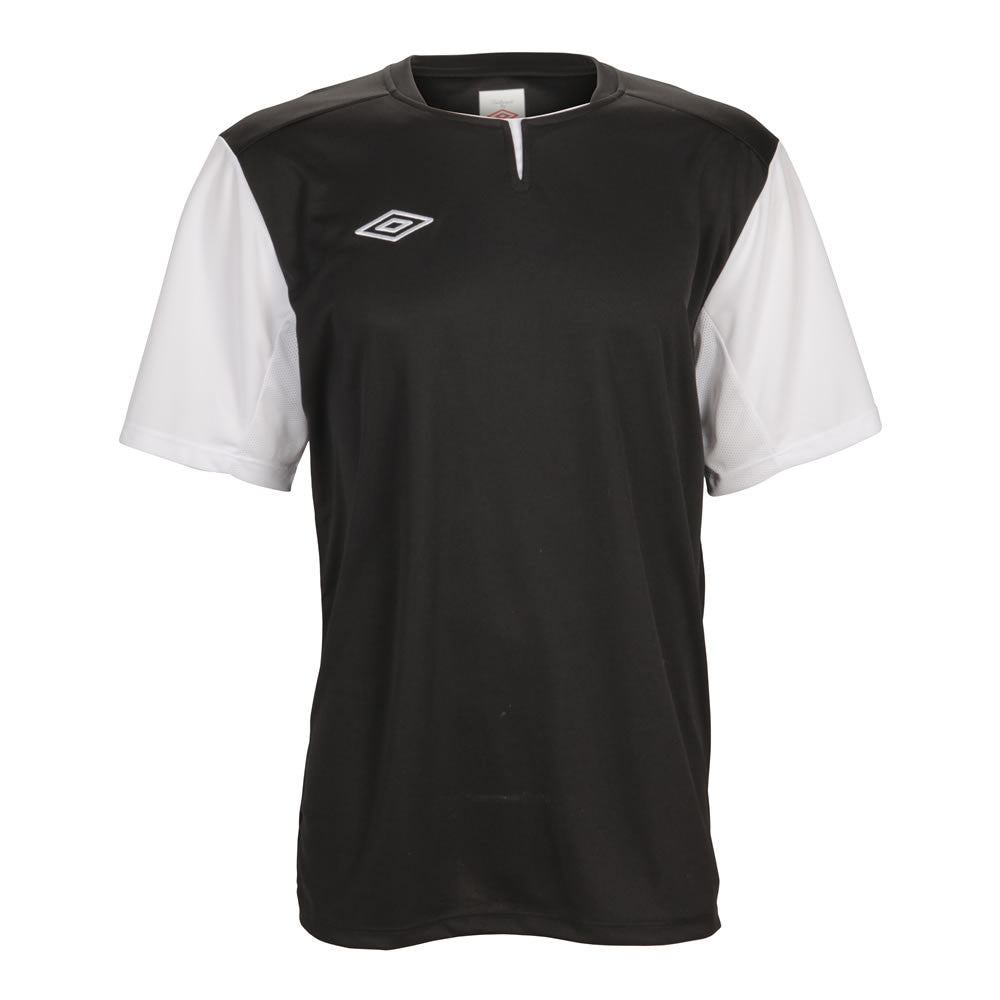26090b306e4c Umbro Aston Short Sleeve Jersey - Black - Youth Sizes - JoeGoes