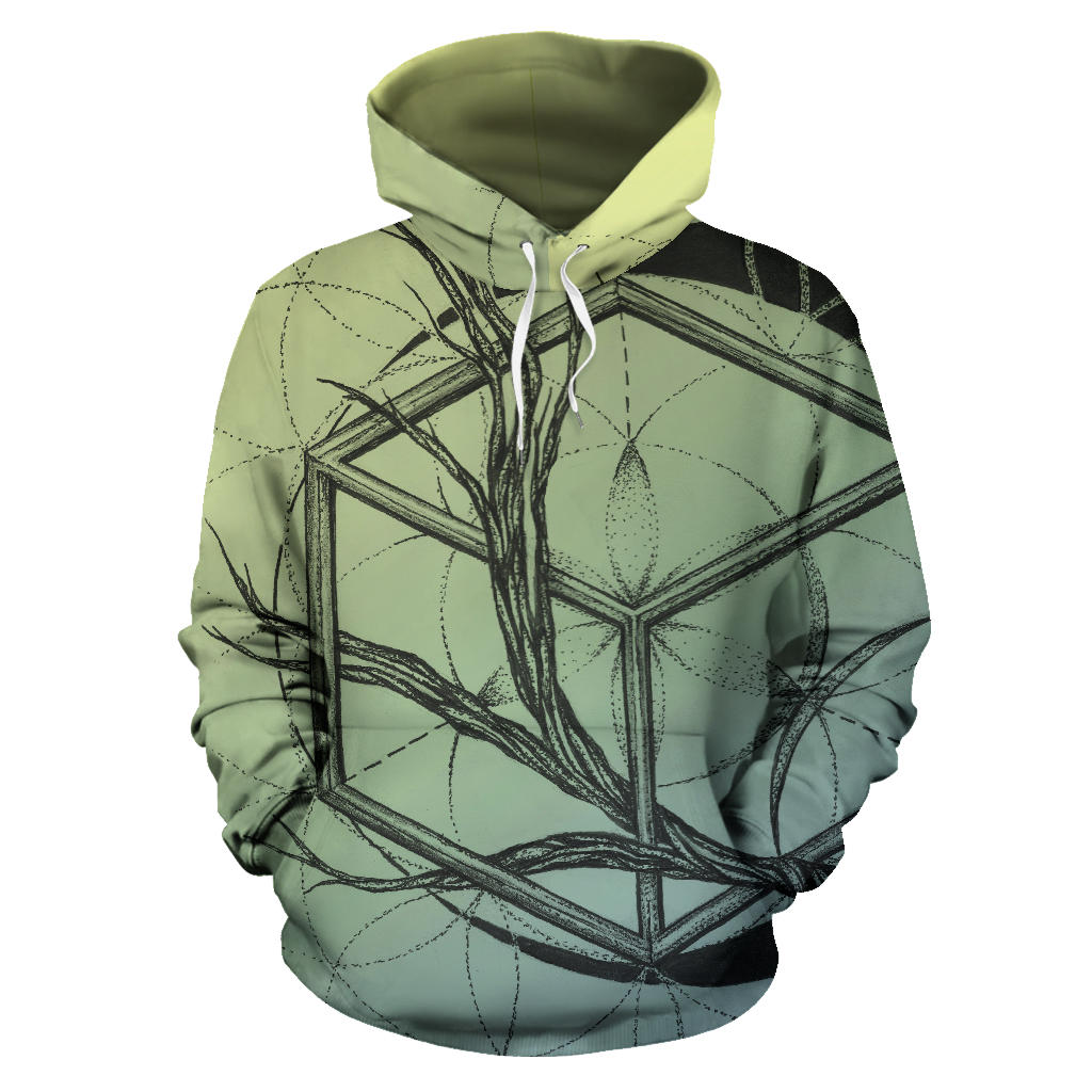 Branch Out Hoodie Pulllover Greens
