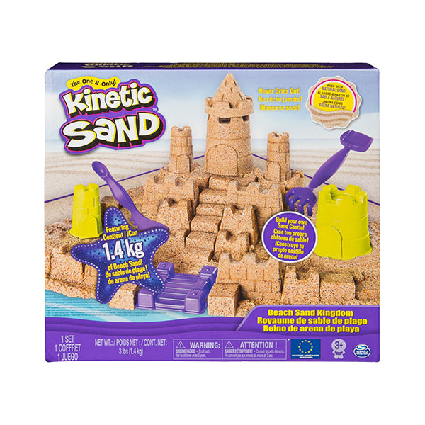 Set Castillo de Arena Kinetic Sand