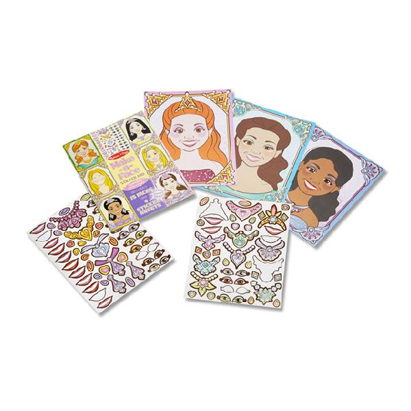 Block stickers - Caras princesas