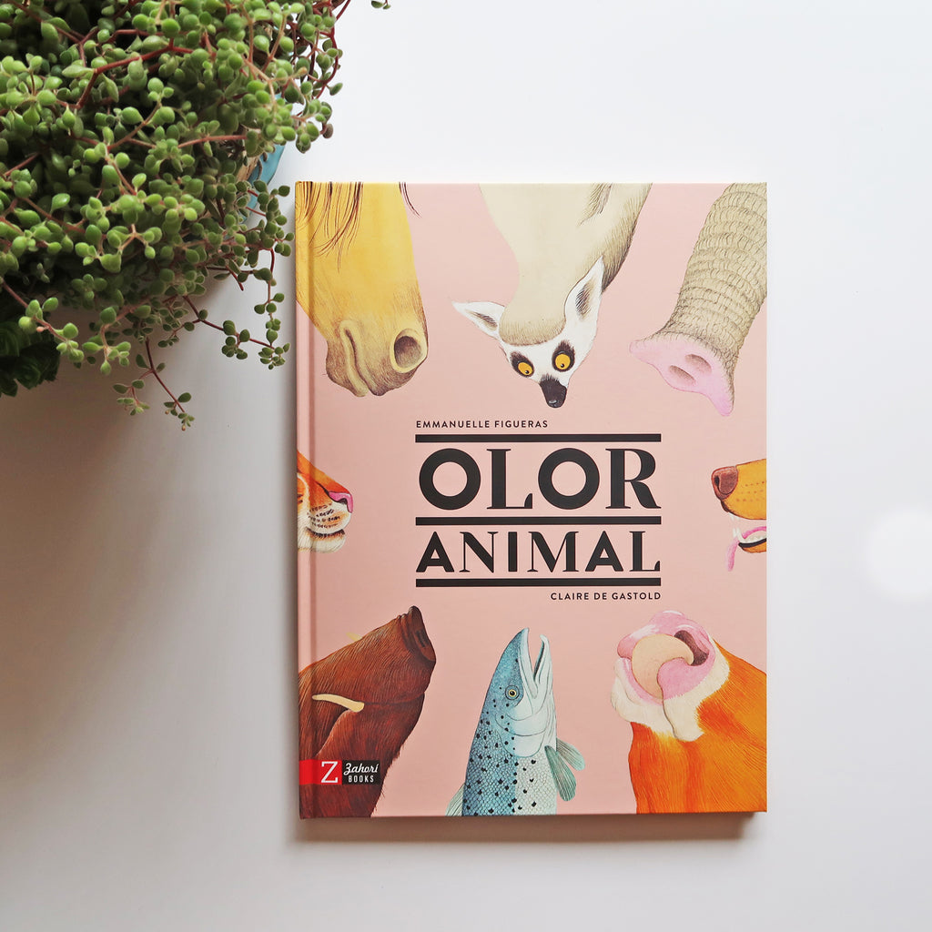 "Libro ""Olor Animal"" - El Fascinante Mundo del Olfato Animal"