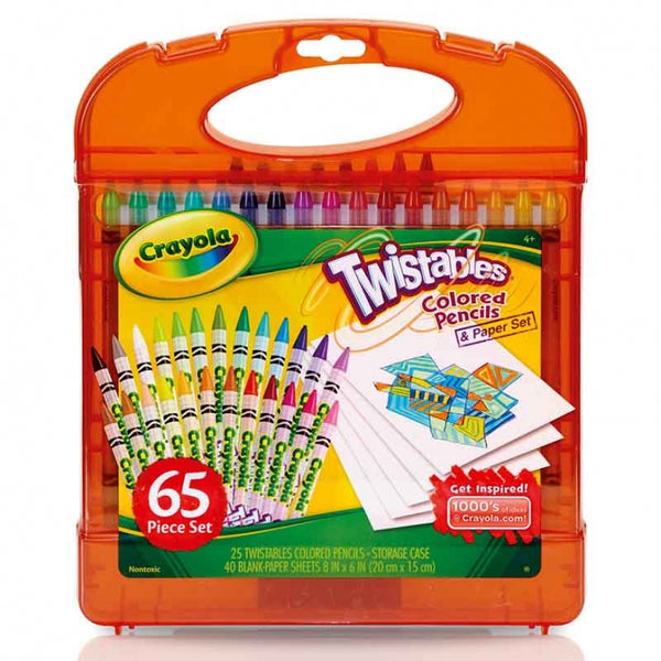 Maleta Set 25 Crayones Twistable