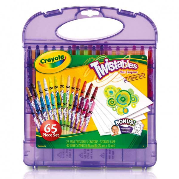 Maleta de Set Mini Crayones Twistables
