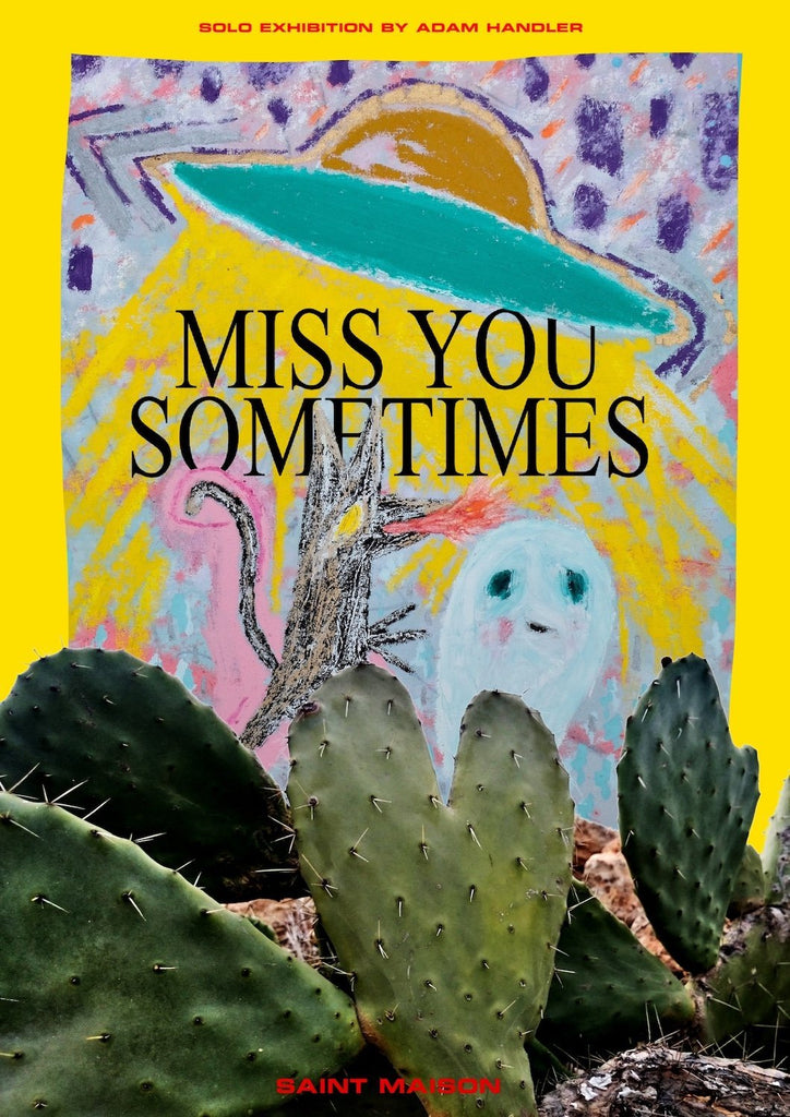 Miss You Sometimes - Adam Handler Online Solo Exhibition