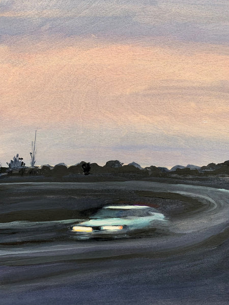 'CHEVY AT DUSK'-NANCY FRIEDLAND-SAINT MAISON