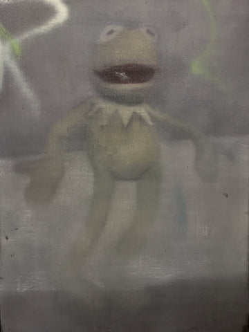 'FROG MAN'-TIM GATENBY-SAINT MAISON