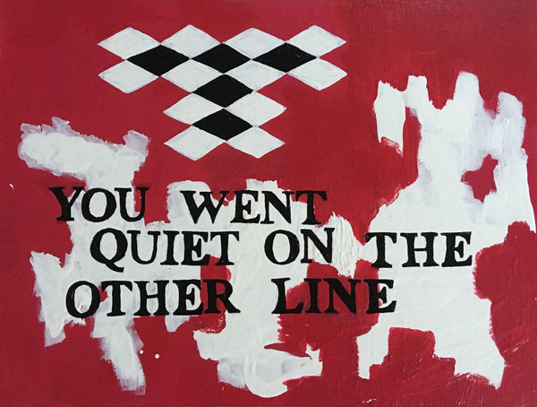 YOU WENT QUIET (ON THE OTHER LINE)-REBECCA ORR-SAINT MAISON