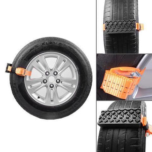 Creative Essentials® Crosser - Emergency Tire Straps (Set Of 2) - shopaholicsonlyco