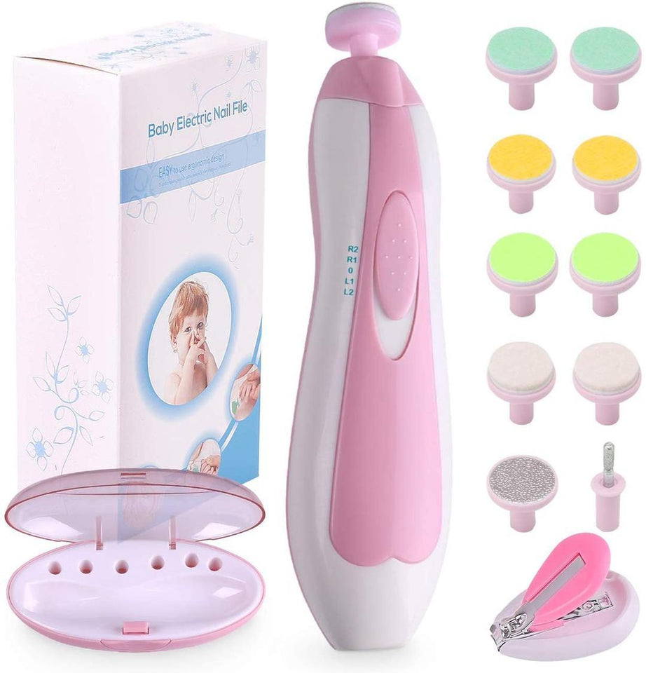 Electric Baby Nail Trimmer - shopaholicsonlyco