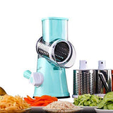Round Mandoline Slicer Vegetable Cutter - shopaholicsonlyco