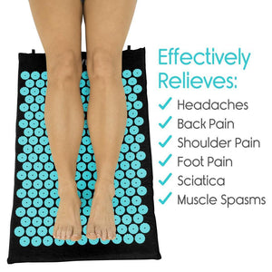 ACUPRESSURE MAT AND PILLOW SET (70% OFF)