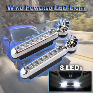 Wind Powered LED Light
