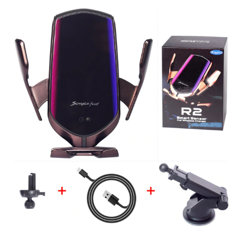 Auto-Clamp Wireless Car Charger - shopaholicsonlyco