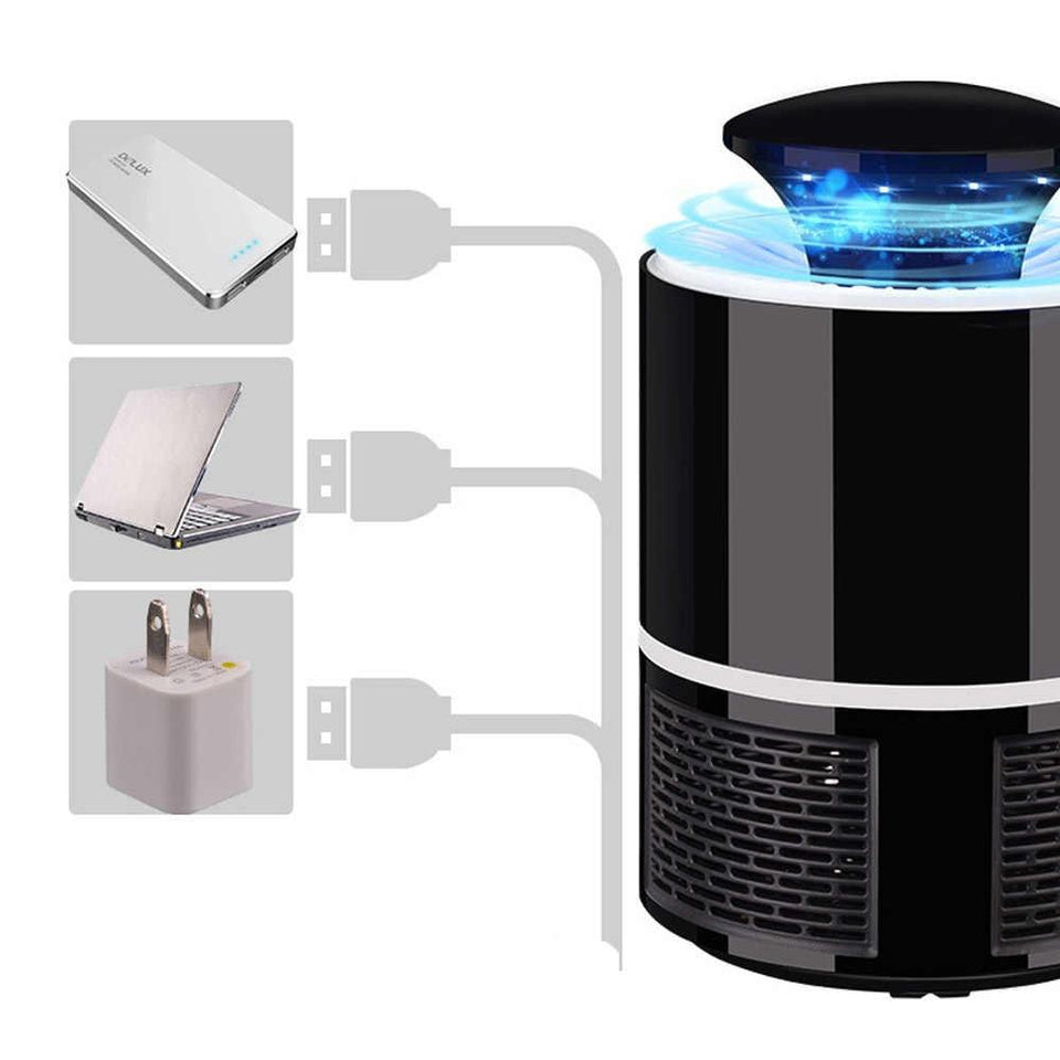 USB Electric Mosquito Killer Lamp - shopaholicsonlyco