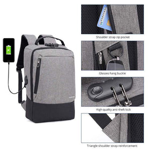Anti-Theft Backpack - shopaholicsonlyco