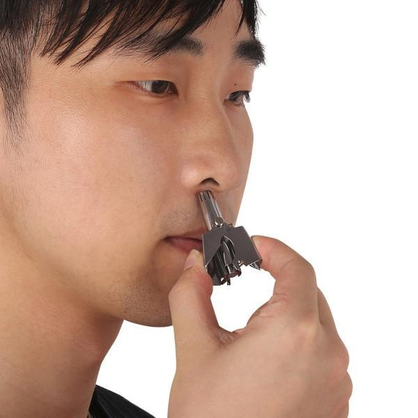 Mechanical Nose Hair Trimmer - shopaholicsonlyco