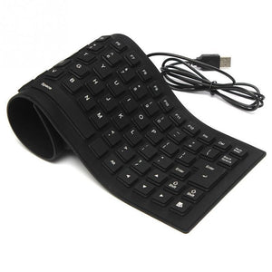 Foldable Flexible Silicone Keyboard - shopaholicsonlyco