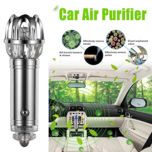 Car Air Purifier & Ionizer Bundle Of 3 - shopaholicsonlyco