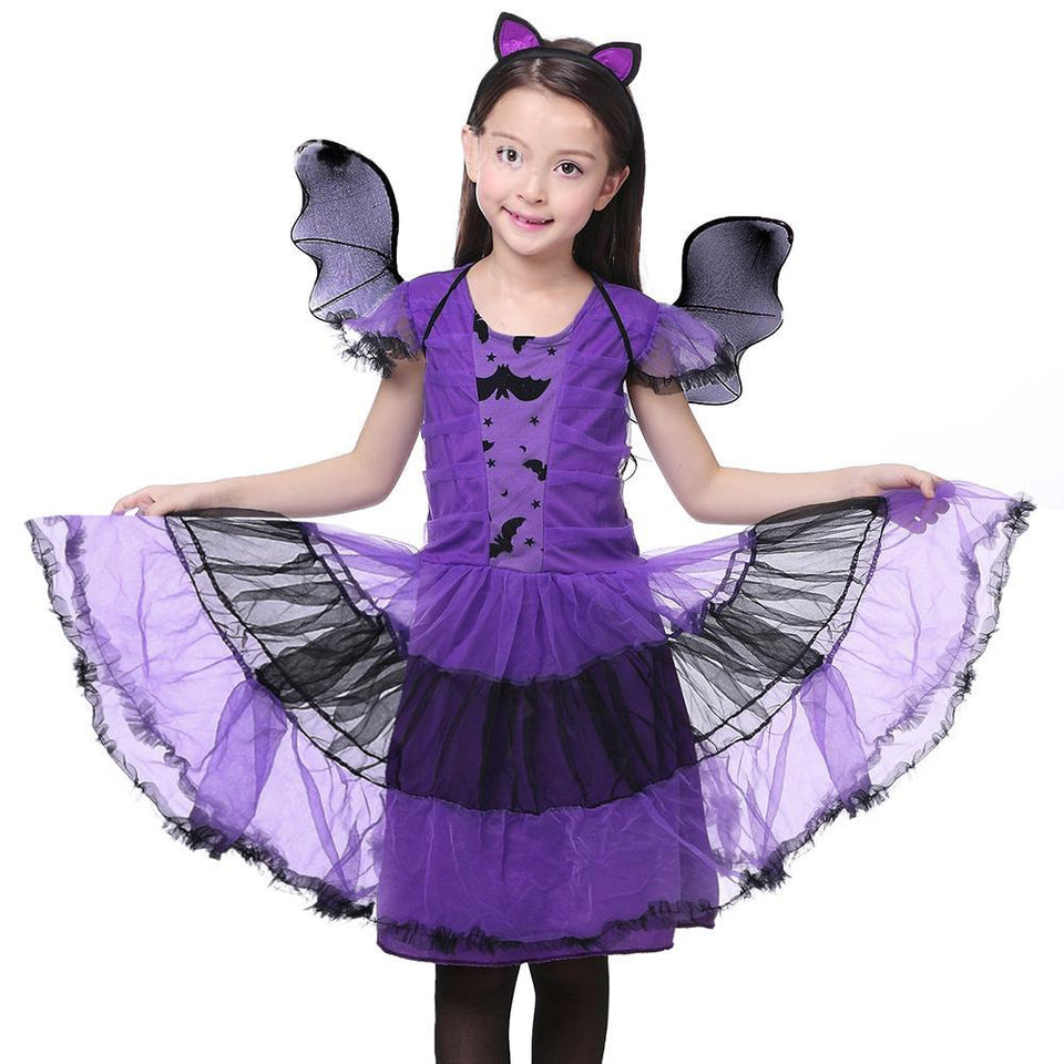 Purple Bat Wings  Cosplay Dress Accessories - shopaholicsonlyco