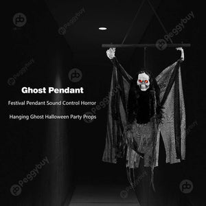 Hanging Ghost Halloween Party Props - shopaholicsonlyco