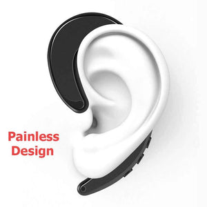 Ear Hook earpiece With Mic For ios and Android - shopaholicsonlyco