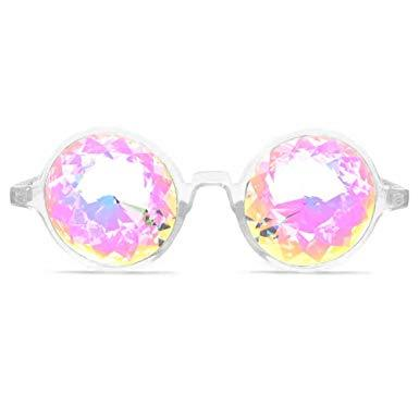 Multicolor Kaleidoscope Glasses - 3 Pack - shopaholicsonlyco