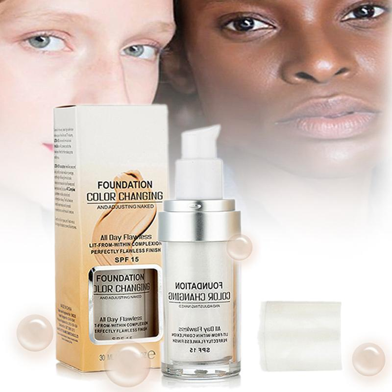 Color Changing Liquid Foundation - shopaholicsonlyco