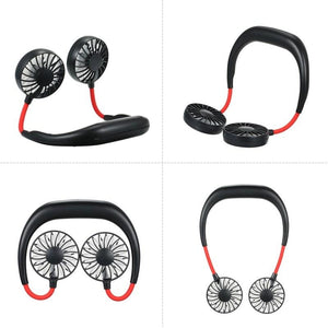 USB Portable Hanging Dual Fan - shopaholicsonlyco
