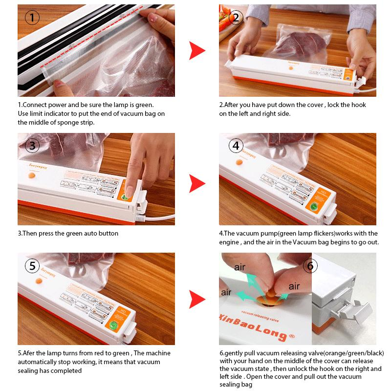 Food Vacuum Sealer - shopaholicsonlyco
