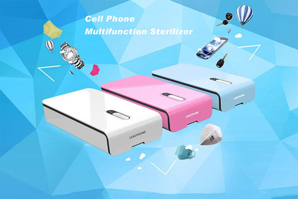Multi-functional Mobile Phone Sterilizer - shopaholicsonlyco