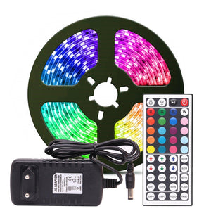 LED Light Strip lamp w/ remote control - shopaholicsonlyco