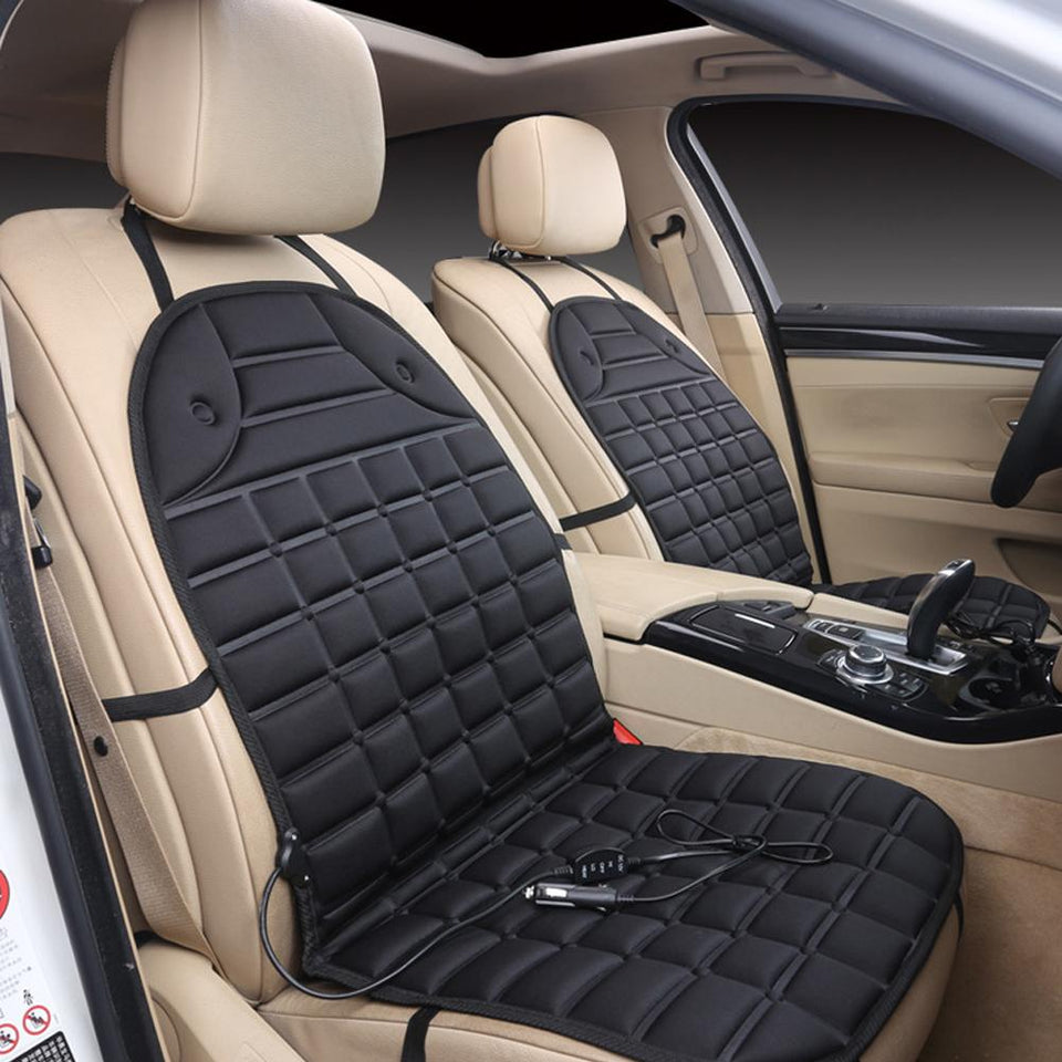 Winter Car Heated Seat Cover - shopaholicsonlyco