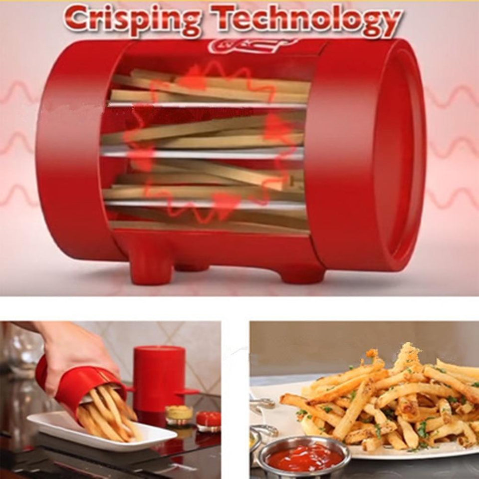 Microwave French Fries Cutter and Baker - shopaholicsonlyco