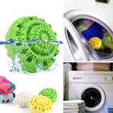 """Miracle Wash"" Eco-Friendly Green Laundry Ball (Reusable) - shopaholicsonlyco"