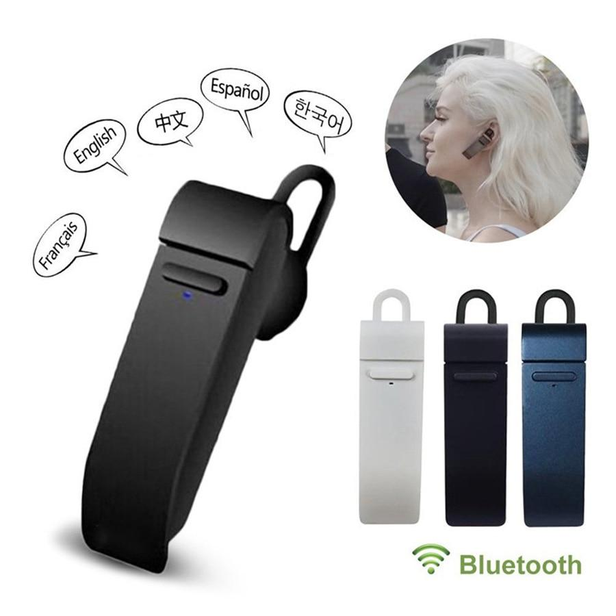 Bluetooth Voice Translator Earphone - shopaholicsonlyco