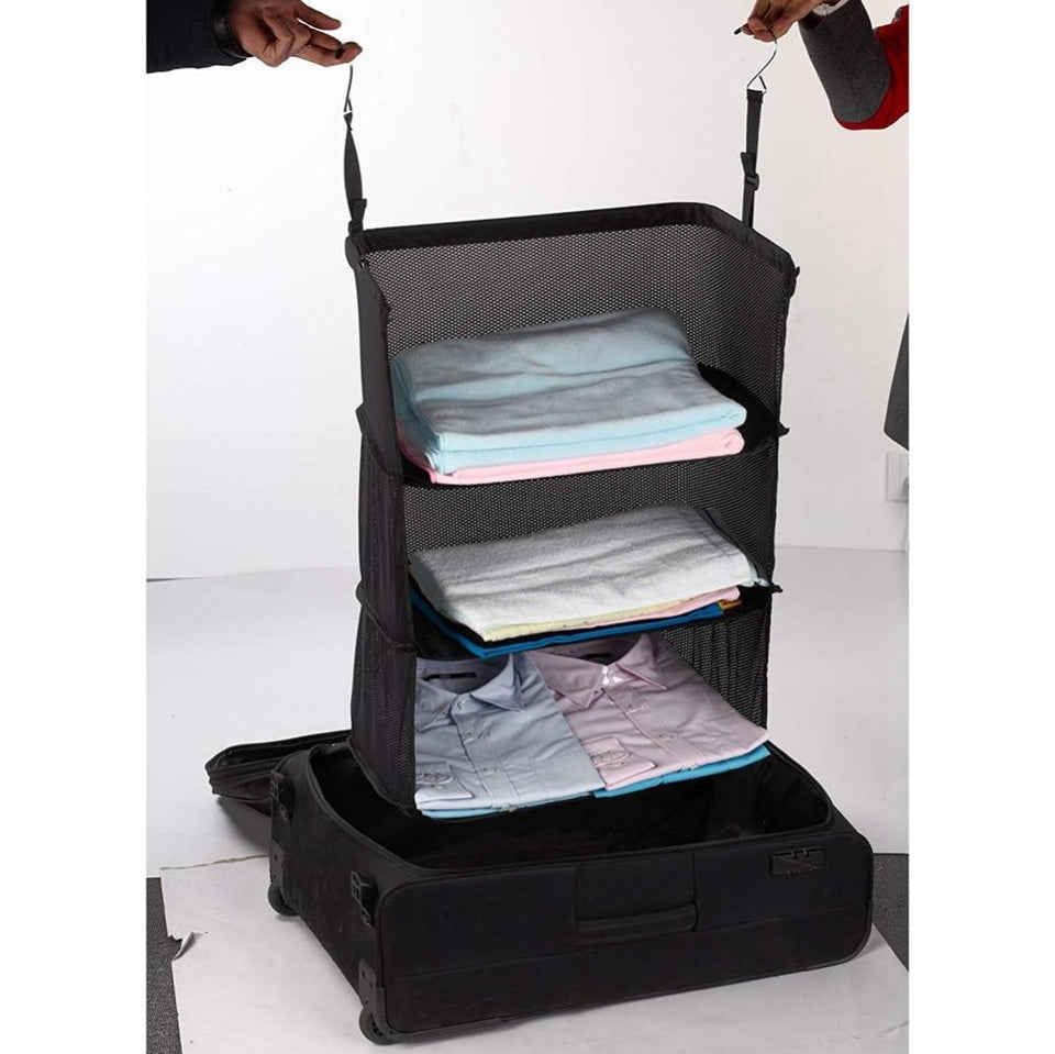 Portable Shelve Luggage - shopaholicsonlyco