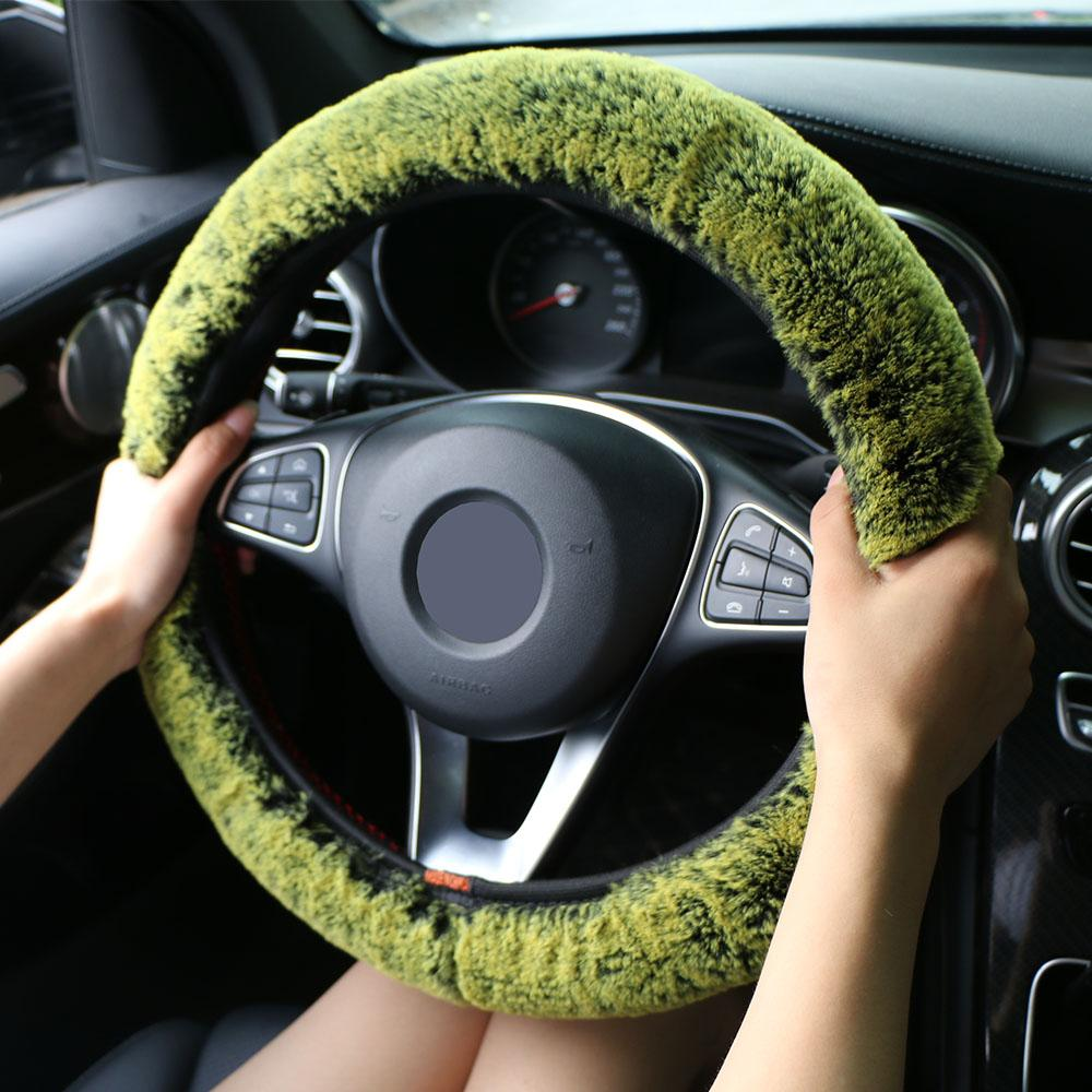 Winter Car Steering Wheel Cover - shopaholicsonlyco