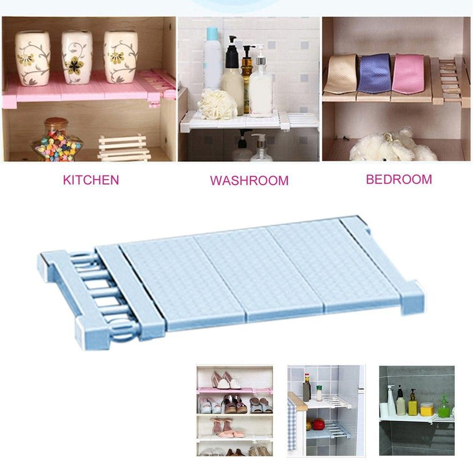 Closet Organizer Storage Shelf - shopaholicsonlyco