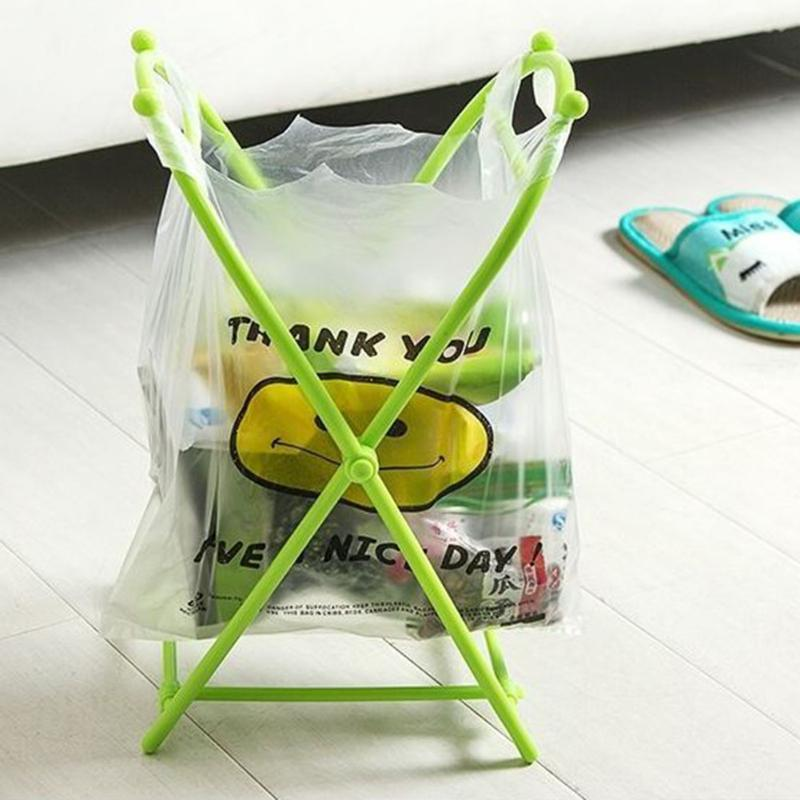 X-type Portable Trash Bags Holder - shopaholicsonlyco