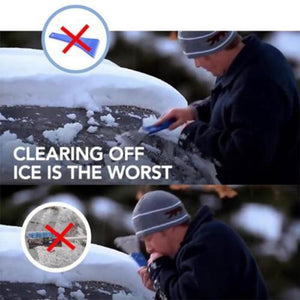 Magic Cone-Shaped Windshield Ice Scraper/Snow Tool - shopaholicsonlyco