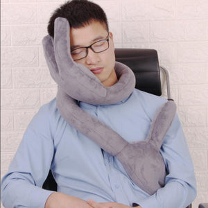 Hand shape Memory Travel Pillow - shopaholicsonlyco