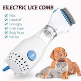 Electronic Pet Lice and Flea Comb Treatment - shopaholicsonlyco