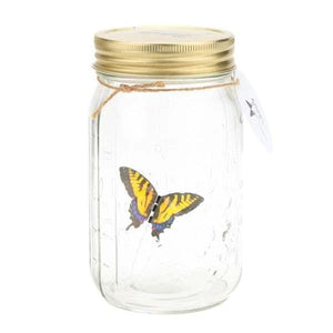 LED Lamp Butterfly Jar - shopaholicsonlyco