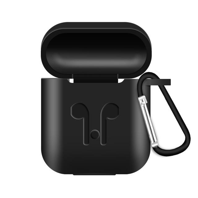 AirPods Protective Silicone Cover Charging Box - shopaholicsonlyco