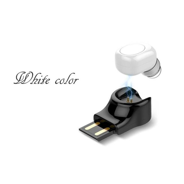 Mini Wireless Headset withUSB Magnetic Charger - shopaholicsonlyco