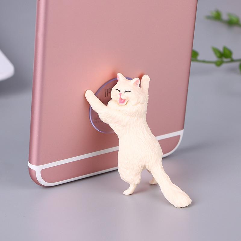 Cute Cat Phone Holder Stand - shopaholicsonlyco