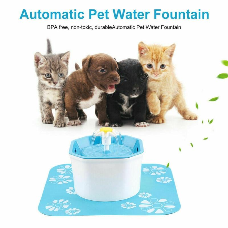 Pet Flower Water Fountain - shopaholicsonlyco