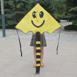 Smiling Face Cute Cartoon Kites - shopaholicsonlyco