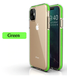 Transparent Rubber Phone Case for iPhone 11/Pro/Max - shopaholicsonlyco